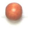 Wooden Bead Round 6mm Light Brown